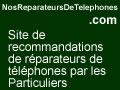 Trouvez les meilleurs reparateurs de telephones avec les avis clients sur ReparateursDeTelephones.NosAvis.com